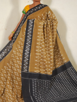 Ikkat pure cotton saree