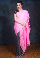 Soft cotton khadi saree