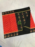 Pochampally ikkat silk saree