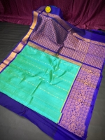 Kanchipuram achhulath butti saree