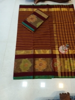 Uppada cotton saree