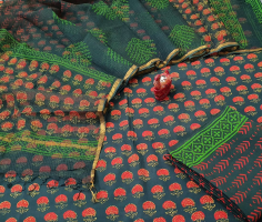HANDBLOCK PRINTED OF PURE COTTON SUITS