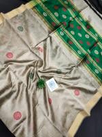 Mangalgiri cotton kuppadam plain border saree