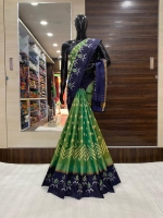 Latest ikkath pochampally saree