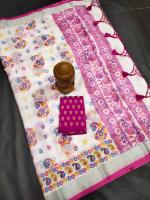Ikkat zakat Silk sarees