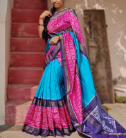 Pochampally pure ikkath silk saree