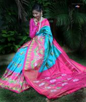 Pochampally Ikkath silk saree