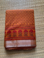 Mangalagiri pure cotton saree