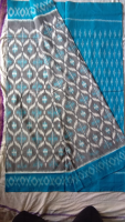 Pochampally handloom ikkat masressed saree