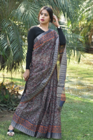 Bagalpuri temple border saree