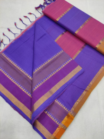 Mangalgiri saree with bentex border