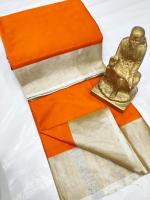 Khadi ikkat cotton saree