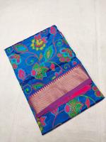 Cotton silk handloom saree