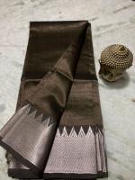 Mangalgiri pure cotton multi colour strips saree