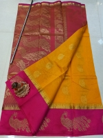 Chanderi kuppadam saree