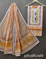 Bagru handblock printed cotton suits