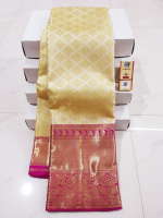 Mangalgiri pattu zari checks saree