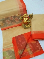 Tripura silk pochampally border saree