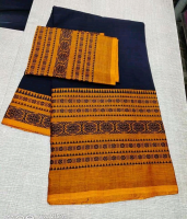 Begampuri khadi cotton saree