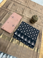Mangalagiri pure cotton by cotton dress material