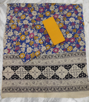 Mangalgiri kalamkari cotton dress material