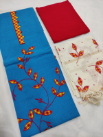 Mangalgiri cotton dress material