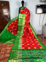 Pochampally Ikkath silk saree